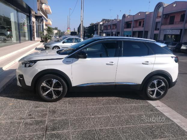 sold peugeot 3008 gt line cambio a used cars for sale autouncle. Black Bedroom Furniture Sets. Home Design Ideas