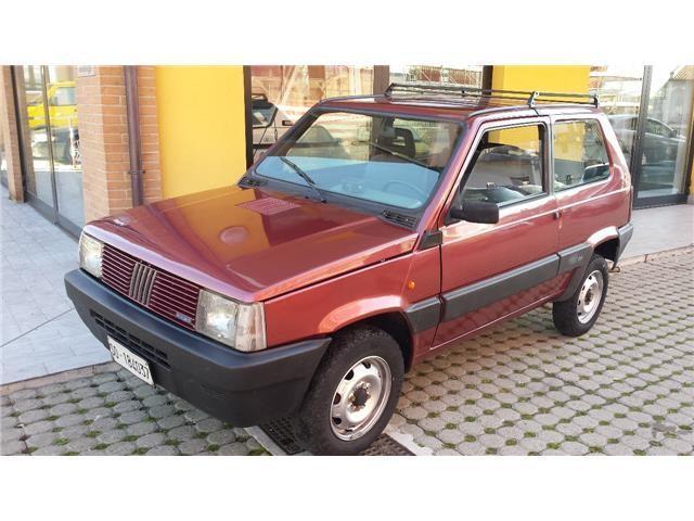 Usato 4x4 sisley fiat panda 1991 km in sesto for Fiat panda 4x4 sisley usata