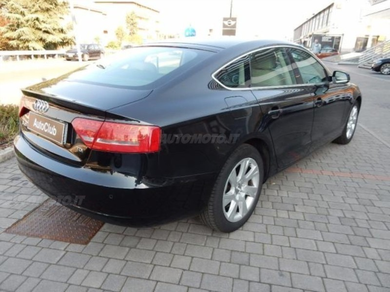Audi a5 sportback usata 2010