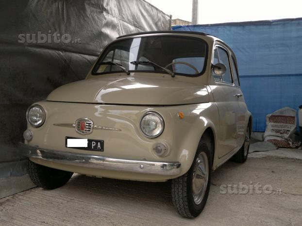 sold fiat 500 f anni 60 used cars for sale autouncle. Black Bedroom Furniture Sets. Home Design Ideas