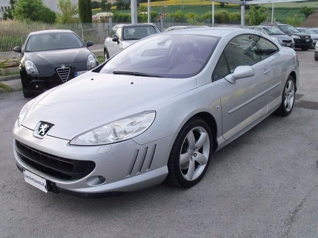 sold peugeot 407 coupe 2 7 v6 hdi used cars for sale. Black Bedroom Furniture Sets. Home Design Ideas