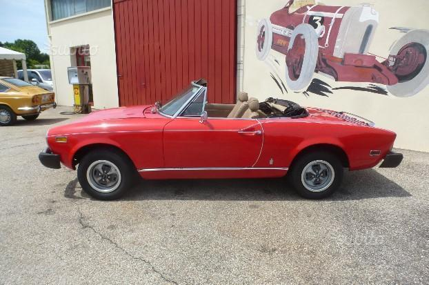sold fiat 124 spider 1800 america used cars for sale autouncle. Black Bedroom Furniture Sets. Home Design Ideas