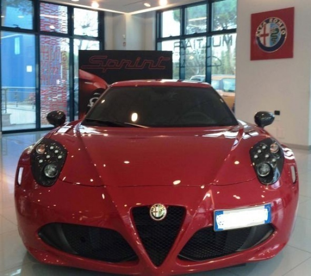 Sold Alfa Romeo 4C Launch Edition