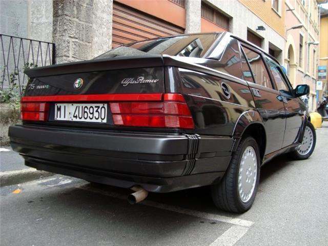sold alfa romeo 75 turbo asn used cars for sale autouncle. Black Bedroom Furniture Sets. Home Design Ideas