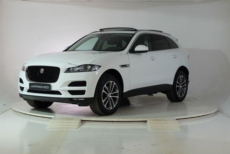 sold jaguar f pace 2 0 d 180 cv aw used cars for sale autouncle. Black Bedroom Furniture Sets. Home Design Ideas