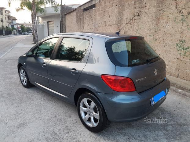 sold peugeot 307 diesel 1 6 hdi 90 used cars for sale. Black Bedroom Furniture Sets. Home Design Ideas