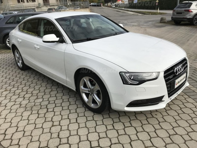 Audi a5 tdi usato bianco 5