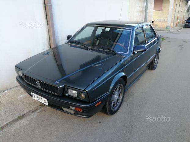 Sold Maserati Biturbo 422 - used cars for sale
