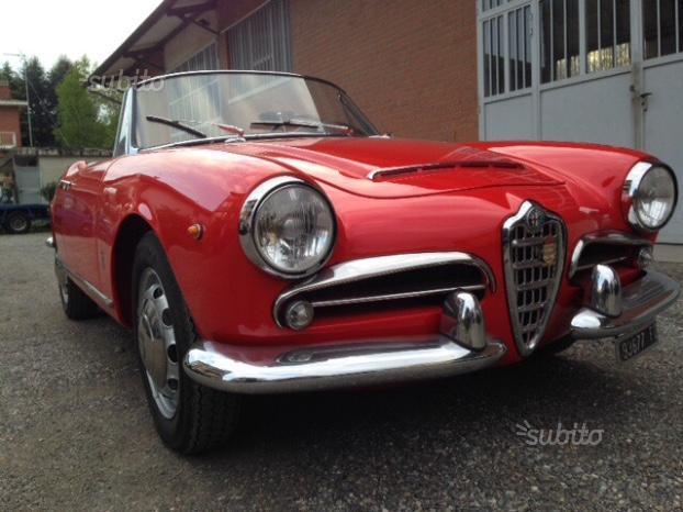Ab D Fb E D C Fa Alfa Romeo Giulia Spider Anni