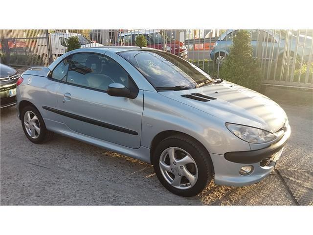 sold peugeot 206 cc clima au used cars for sale. Black Bedroom Furniture Sets. Home Design Ideas