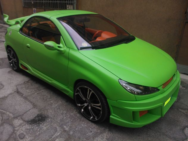sold peugeot 206 cc tuning used cars for sale autouncle. Black Bedroom Furniture Sets. Home Design Ideas