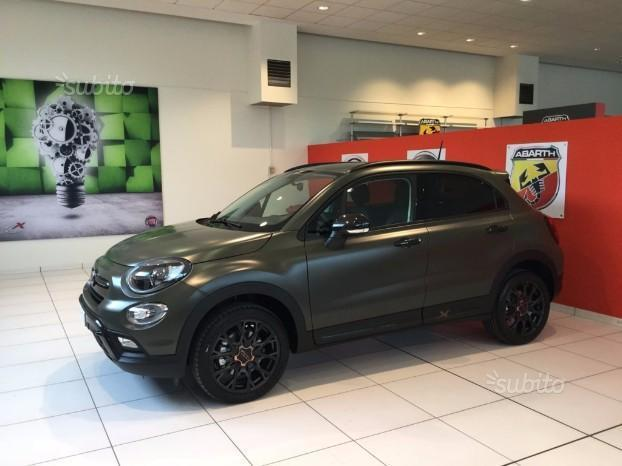 sold fiat 500x 2017 s design cro used cars for sale. Black Bedroom Furniture Sets. Home Design Ideas