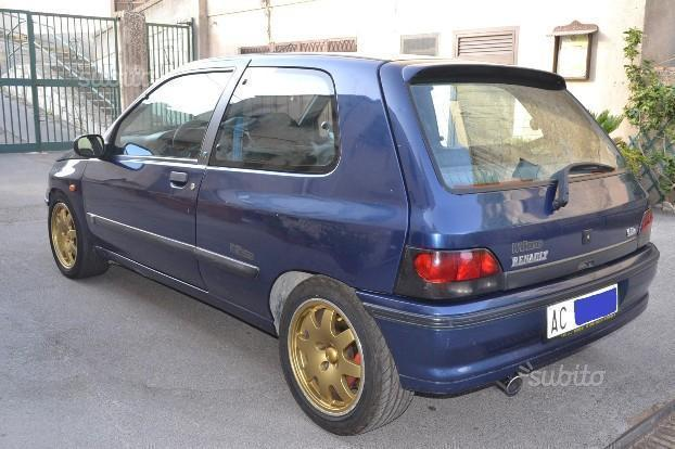 sold renault clio williams 1994 used cars for sale. Black Bedroom Furniture Sets. Home Design Ideas