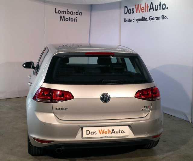 Sold VW Golf 1.6 TDI 110 CV DSG 5p.
