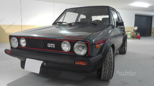 sold vw golf gti serie 1 del 1984 used cars for sale. Black Bedroom Furniture Sets. Home Design Ideas