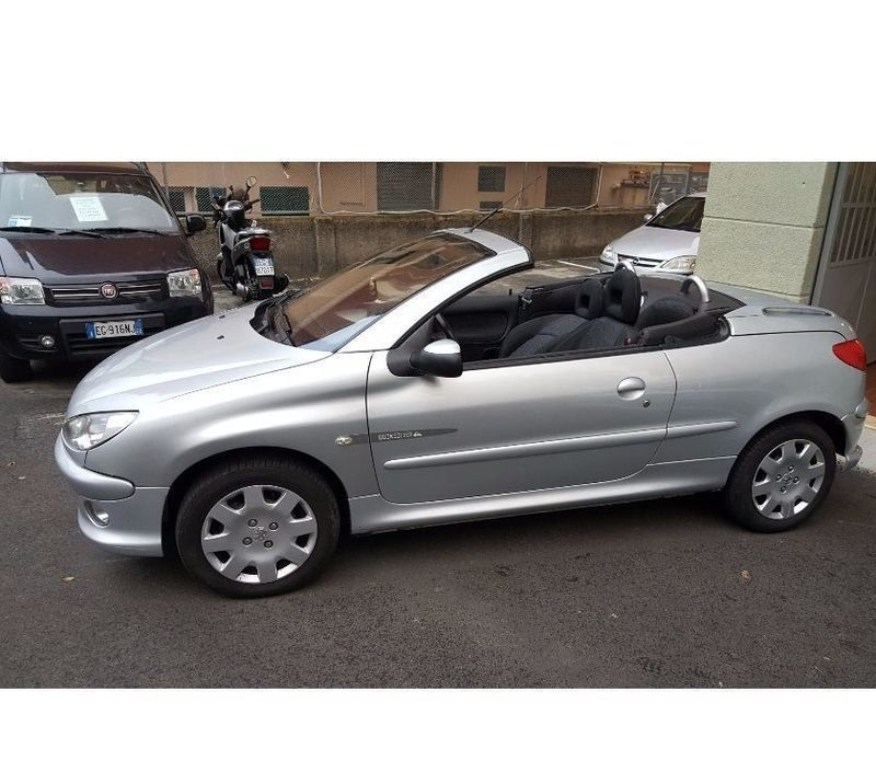 sold peugeot 206 cc cabrio 1 6 ben used cars for sale autouncle. Black Bedroom Furniture Sets. Home Design Ideas