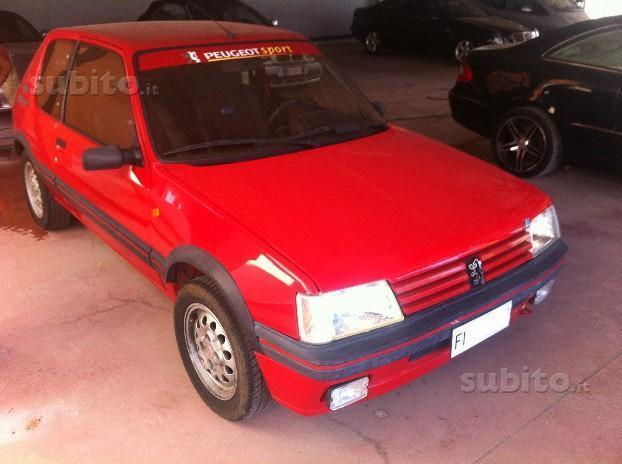sold peugeot 205 gti 1 6 used cars for sale autouncle. Black Bedroom Furniture Sets. Home Design Ideas