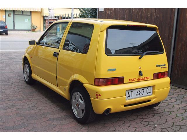 sold fiat cinquecento giannini 1 1 used cars for sale autouncle. Black Bedroom Furniture Sets. Home Design Ideas