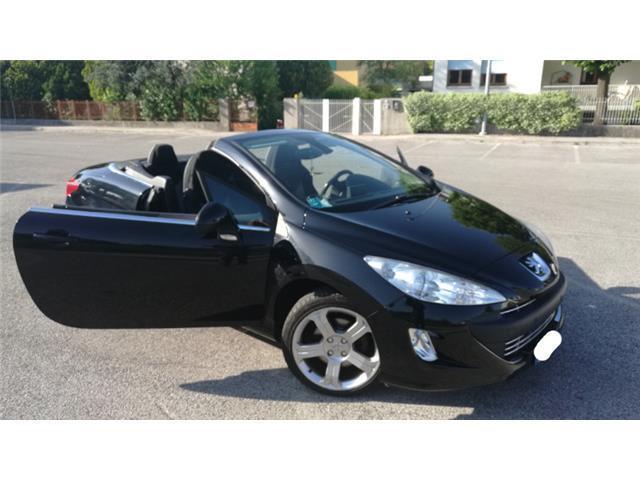venduto peugeot 308 cc cabrio 1 6 thp auto usate in vendita. Black Bedroom Furniture Sets. Home Design Ideas