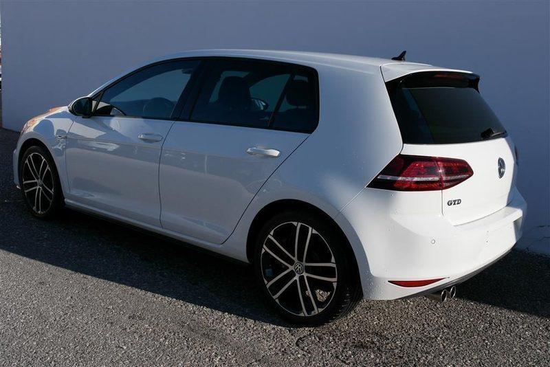 sold vw golf vii 2 0 gtd bi xeno used cars for sale. Black Bedroom Furniture Sets. Home Design Ideas