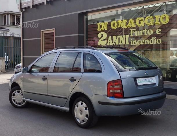 usato 1 9 sdi cat wagon classic skoda fabia 2003 km in i marsala tp. Black Bedroom Furniture Sets. Home Design Ideas