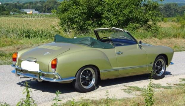 venduto vw karmann ghia cabrio anni 70 auto usate in vendita. Black Bedroom Furniture Sets. Home Design Ideas
