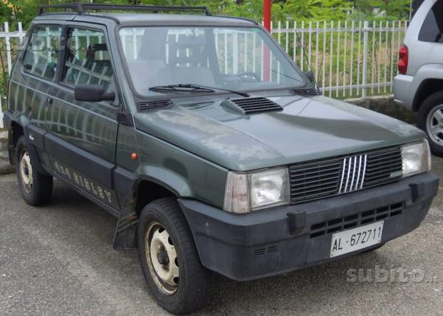 Sold fiat panda 4x4 1000 4x4 sisley used cars for sale for Panda 4x4 sisley scheda tecnica
