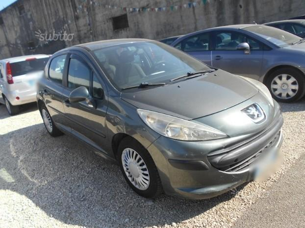 sold peugeot 207 1 4 hdi 70 cv con used cars for sale autouncle. Black Bedroom Furniture Sets. Home Design Ideas