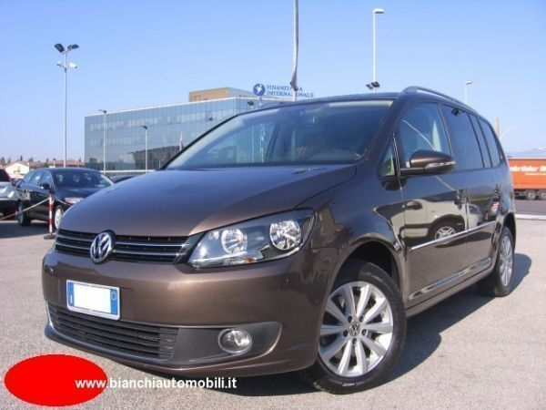 usato 2 0 tdi 140 cv dsg highline 7 vw touran 2013 km in san vendemiano tv. Black Bedroom Furniture Sets. Home Design Ideas