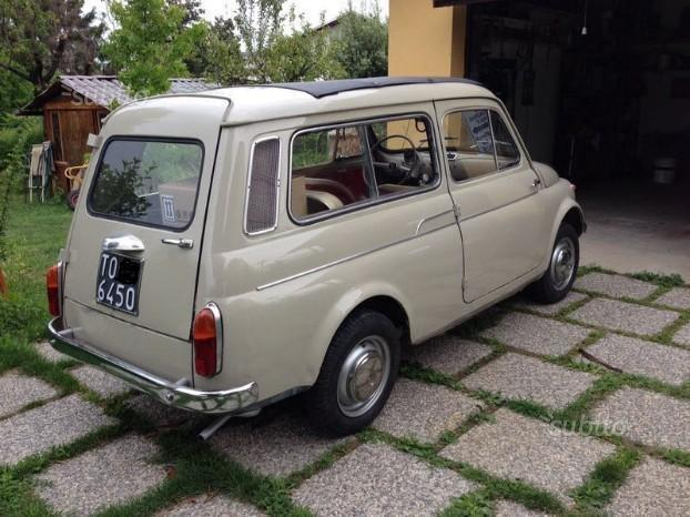sold fiat 500 giardiniera 1967 used cars for sale autouncle. Black Bedroom Furniture Sets. Home Design Ideas