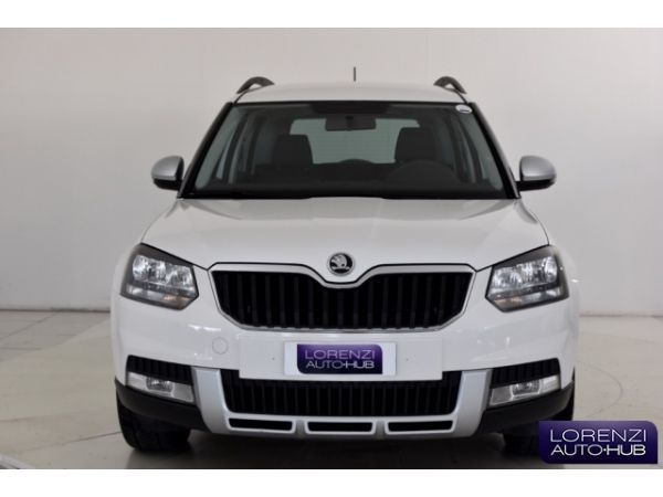 usato yeti 2 0 tdi cr 110cv 4x4 ambition skoda yeti 2014. Black Bedroom Furniture Sets. Home Design Ideas