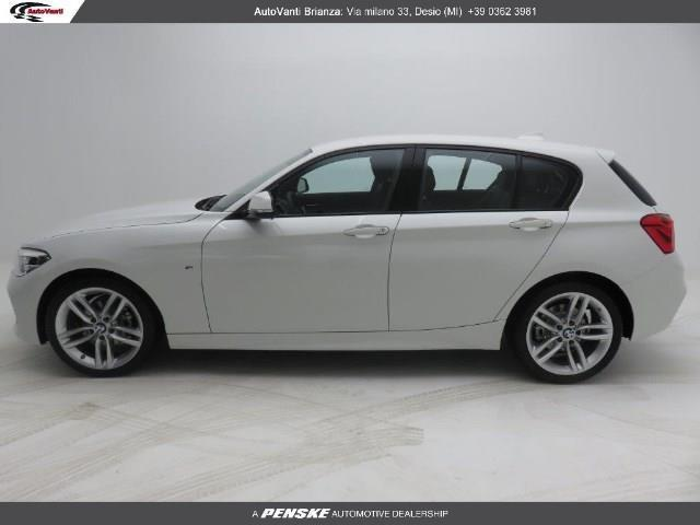 usato d m sport bmw 116 2016 km in varese va autouncle. Black Bedroom Furniture Sets. Home Design Ideas