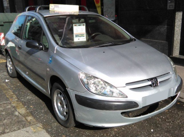 sold peugeot 307 1 4 hdi 3p ecocl used cars for sale. Black Bedroom Furniture Sets. Home Design Ideas