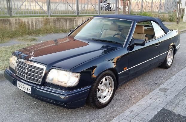 sold mercedes e200 w124 cabrio used cars for sale autouncle. Black Bedroom Furniture Sets. Home Design Ideas