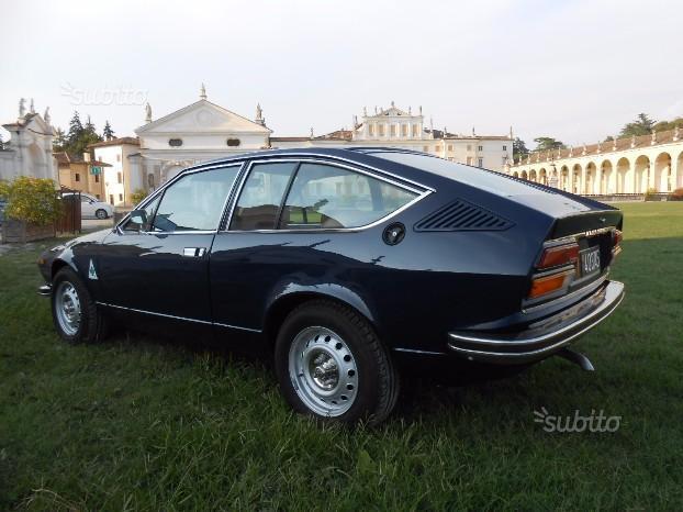 Sold alfa romeo alfetta gt gtv a used cars for sale for Subito udine auto