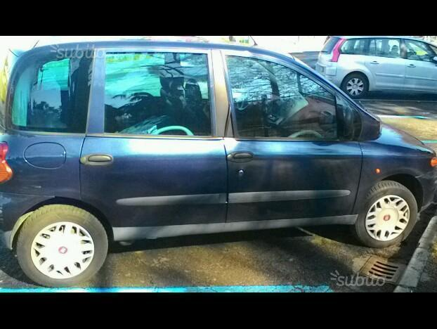sold fiat multipla 1 6 16v gpower used cars for sale autouncle. Black Bedroom Furniture Sets. Home Design Ideas