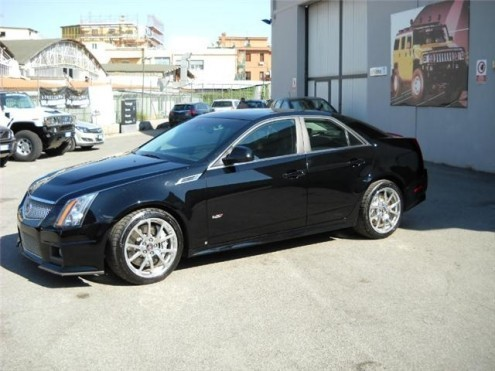 Sold Cadillac Cts V 6 2 V8 Aut S Used Cars For Sale