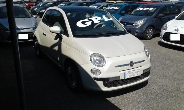 Venduto Fiat 500 1 2 Gpl Lounge Bianc Auto Usate In Vendita