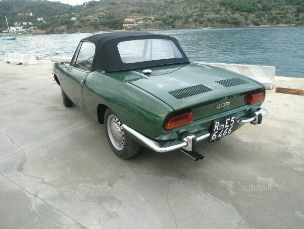 venduto fiat 850 sport spider 1969 auto usate in vendita. Black Bedroom Furniture Sets. Home Design Ideas