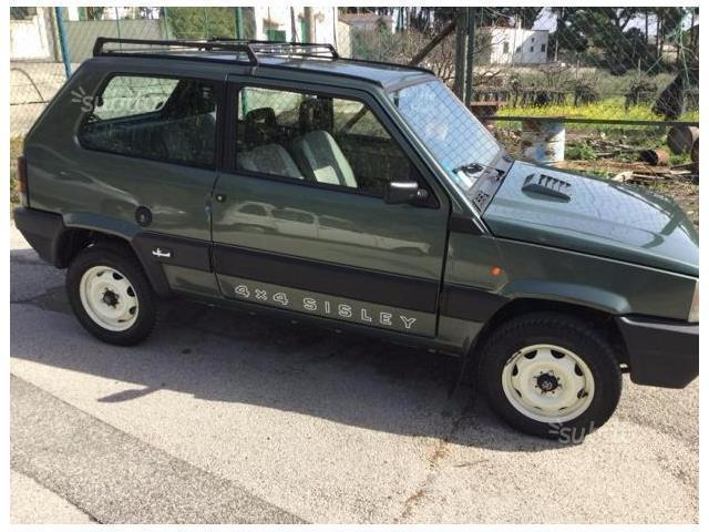 sold fiat panda 4x4 panda sisley used cars for sale autouncle. Black Bedroom Furniture Sets. Home Design Ideas