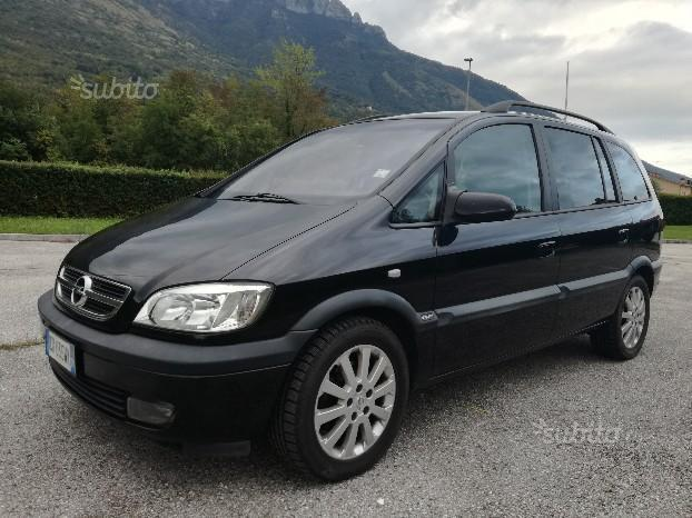 sold opel zafira 2 2 dti 7posti 2 used cars for sale. Black Bedroom Furniture Sets. Home Design Ideas