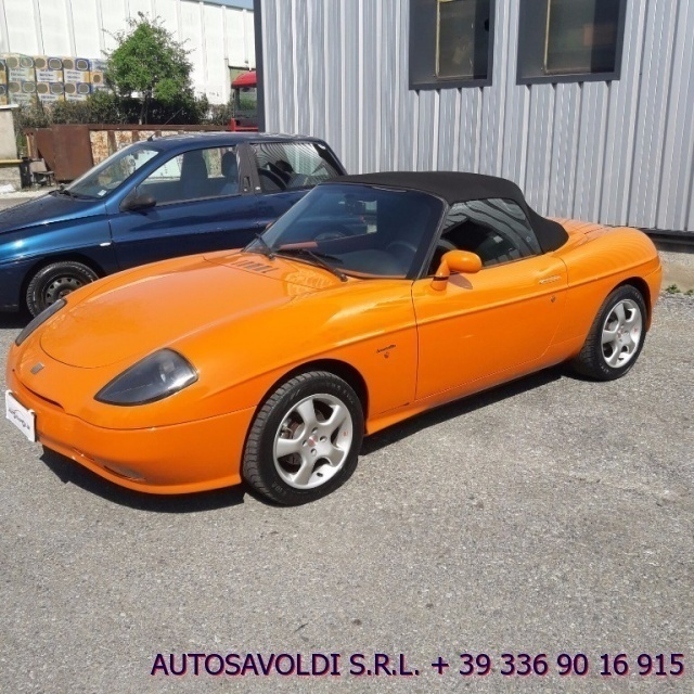sold fiat barchetta 1 8 16v benzin used cars for sale. Black Bedroom Furniture Sets. Home Design Ideas