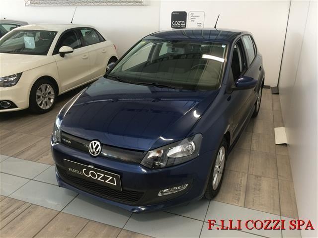 usata VW Polo 5ª serie 1.2 TDI DPF 5p 75cv BlueMotion