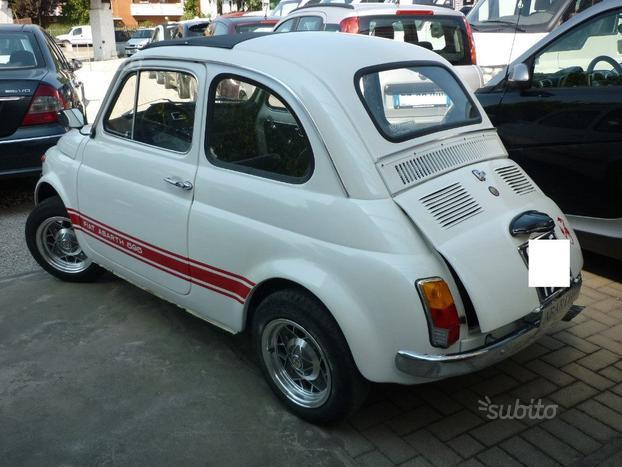 sold fiat 500 abarth replica 500 used cars for sale autouncle. Black Bedroom Furniture Sets. Home Design Ideas