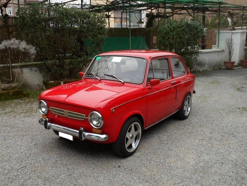 sold fiat 850 special del 1970 d 39 e used cars for sale. Black Bedroom Furniture Sets. Home Design Ideas