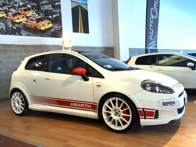 Sold Abarth Punto Evo Esseesse A Used Cars For Sale