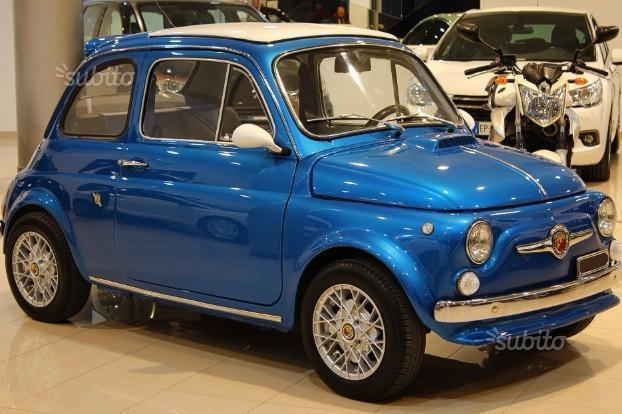 Venduto Fiat 500 Abarth D Epoca Stori Auto Usate In Vendita