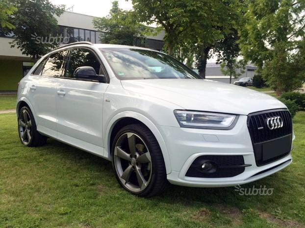 sold audi q3 2 0 tdi stronic s lin used cars for sale. Black Bedroom Furniture Sets. Home Design Ideas