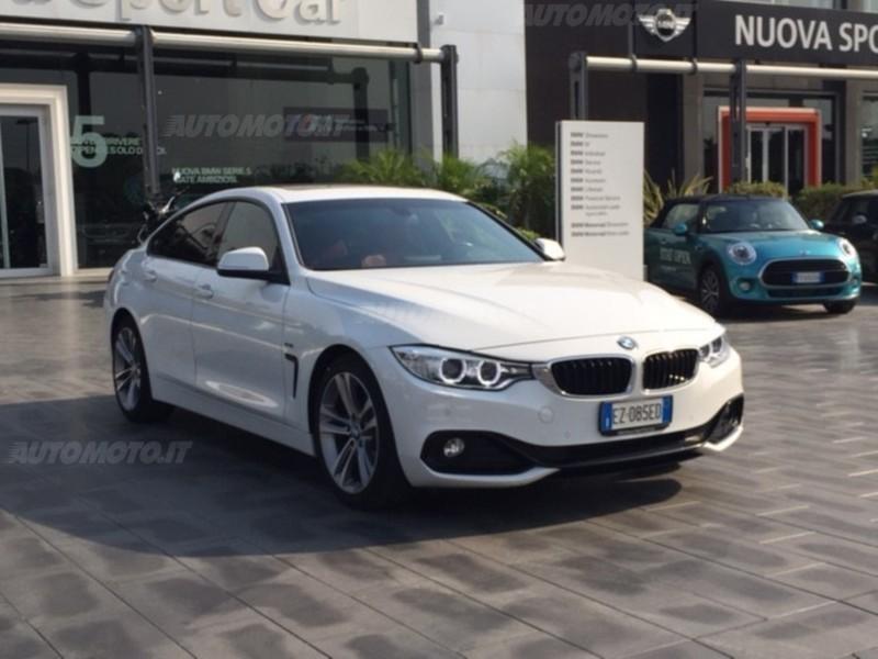 1/4 Usata BMW 420 Serie 4 Gran Coupé D Sport Del 2015 Usata A