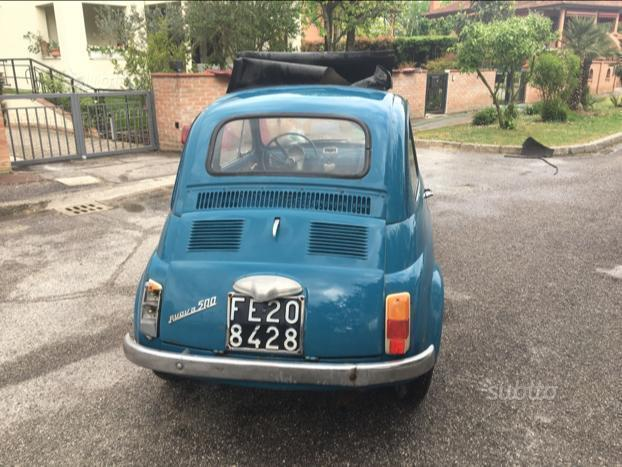 sold fiat 500 f 1966 epoca con doc used cars for sale autouncle. Black Bedroom Furniture Sets. Home Design Ideas